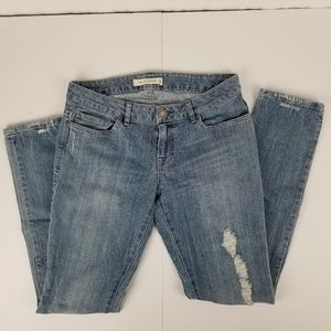 Forever 21 Life in Progress distressed jeans EUC
